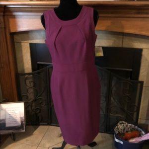 NWT Kasper Dress plum size 8